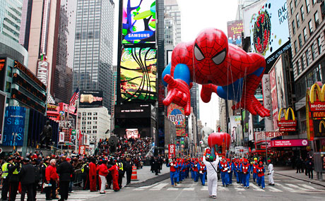 Best Thanksgiving Day Parades   Drive The Nation