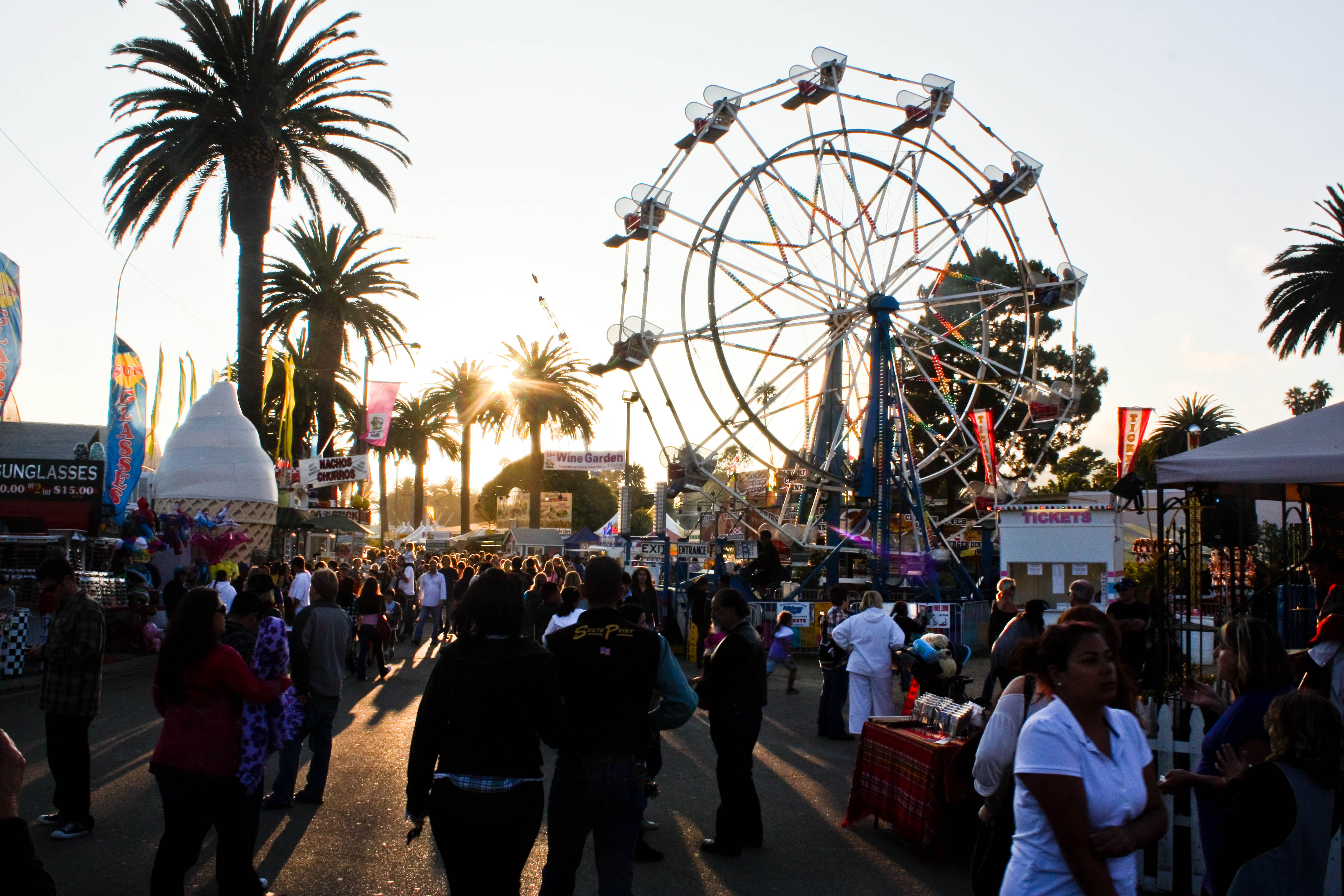 The California State Fair, which is held annually in Sacramento, is an amazingly popular event that brings almost million people each year, with attendance records generally going up from year to year.