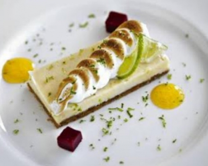 key lime pie takes its name from the florida key s key lime trees so ...