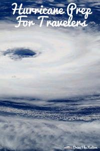 Hurricane Preparation For Travelers