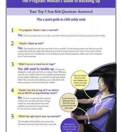 Seatbelt Safety Flier