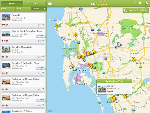 HotelCoupons.com iPad App