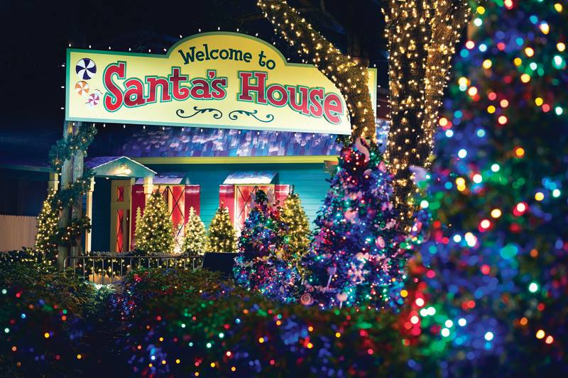 Christmas Town At Busch Gardens Drive The Nation