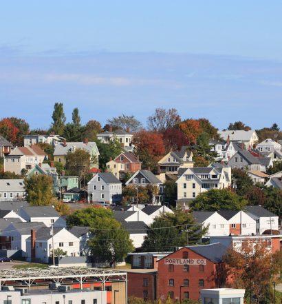 Portland, Maine Town