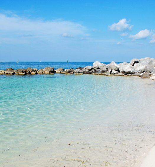 Beach on Key West