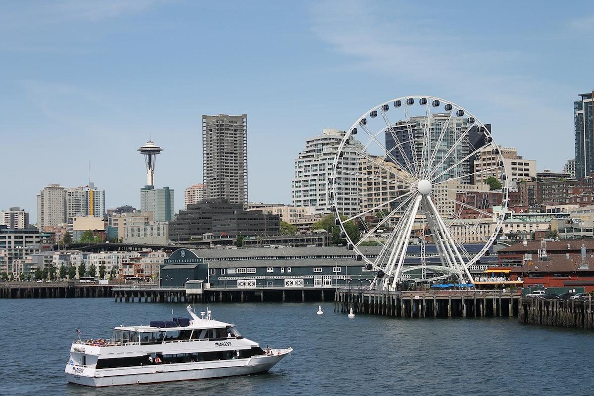 Ferry Boat ride in Seatlte, WA