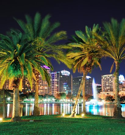 Downtown Orlando Lake Eola