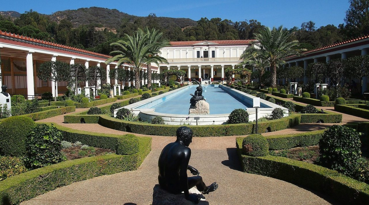 The getty villa a visit to the past drive the nation for Aquatic sport center jardin balbuena