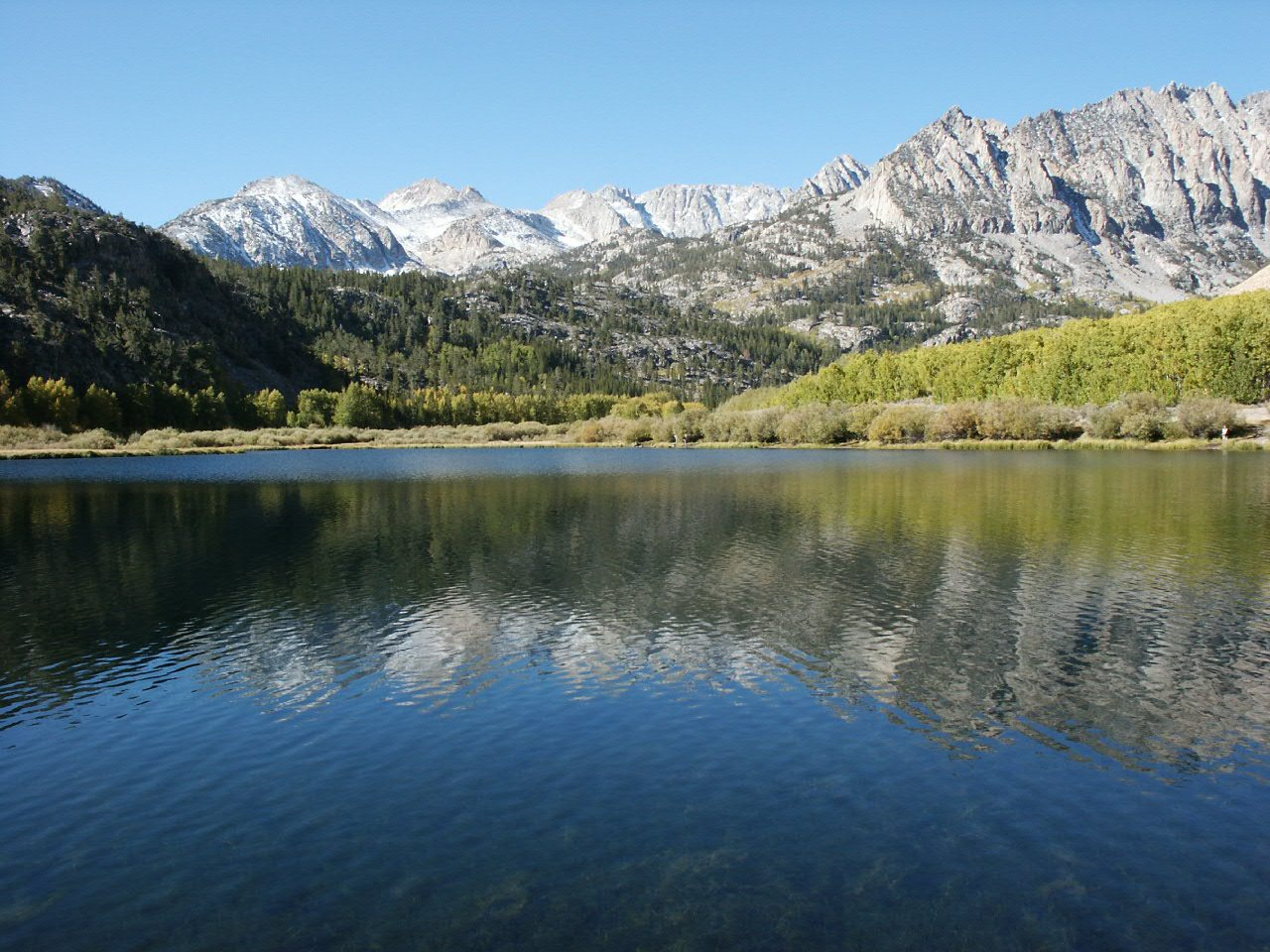 Explore bishop california drive the nation for Canyon lake fishing ca