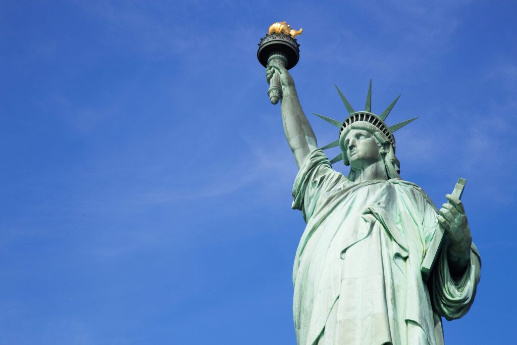 10 Must-See Places on the East Coast: Statue of Liberty