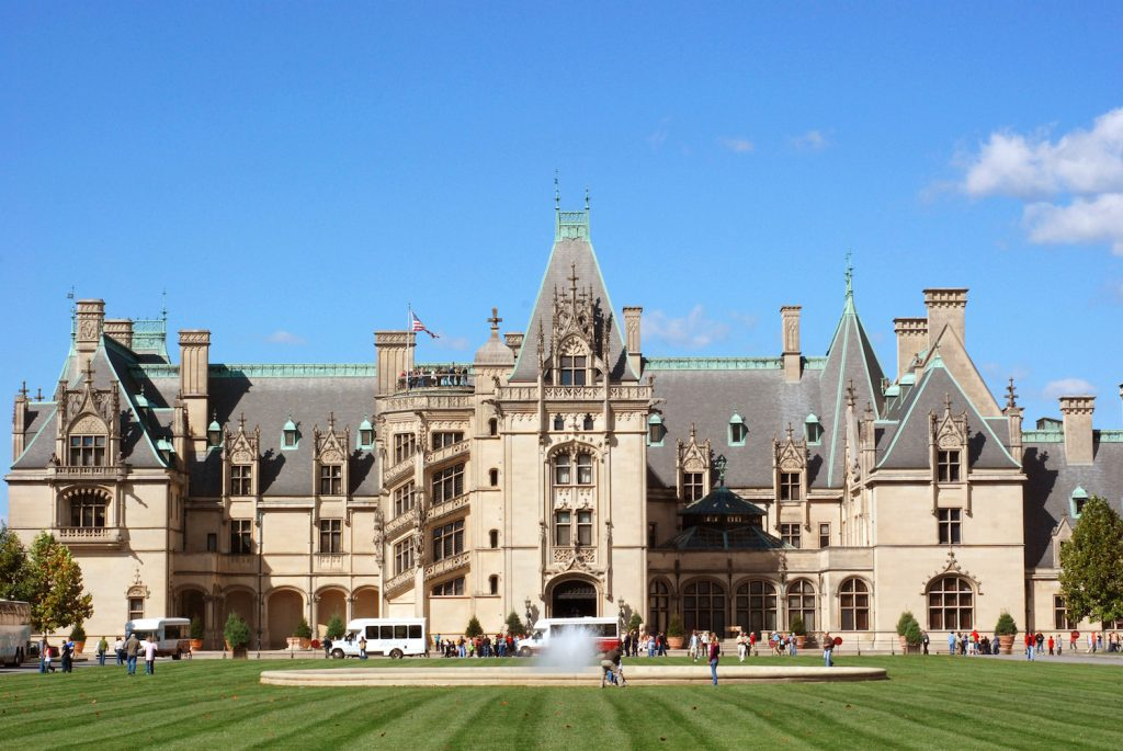 east coast destinations - Biltmore Mansion