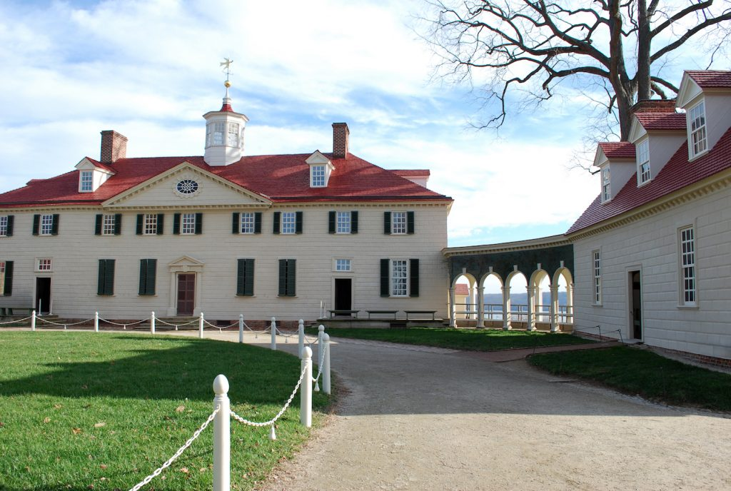 10 Must-See Places on the East Coast: Mount Vernon in Virginia