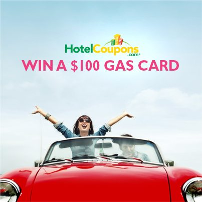 Win a $100 Gas Card From HotelCoupons.com