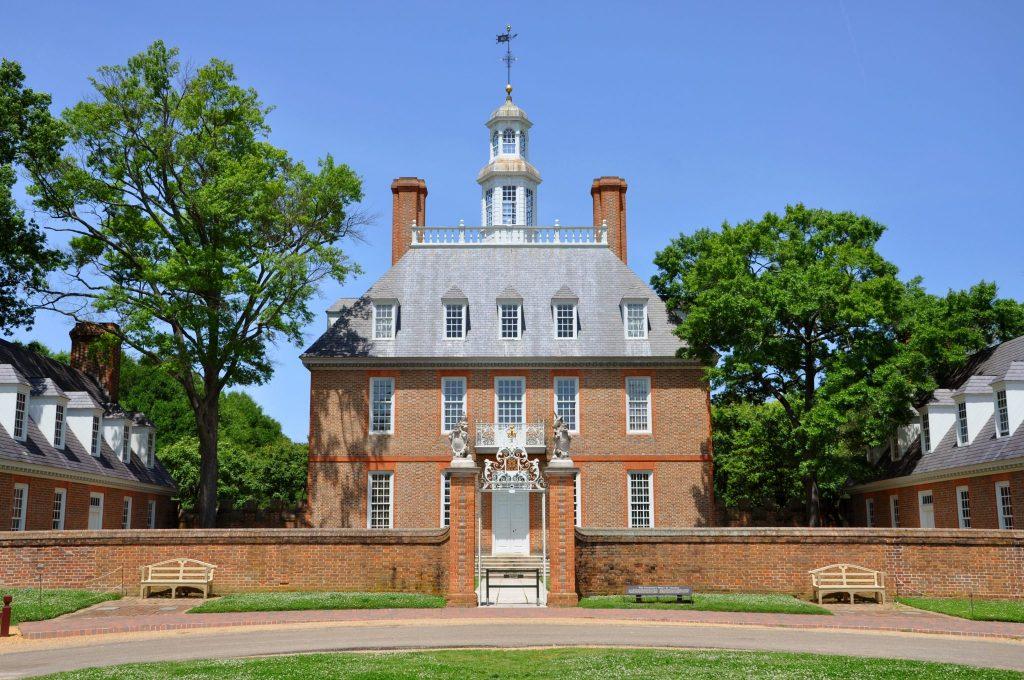 Governors Palace of British Colony, Williamsburg, Virginia, USA