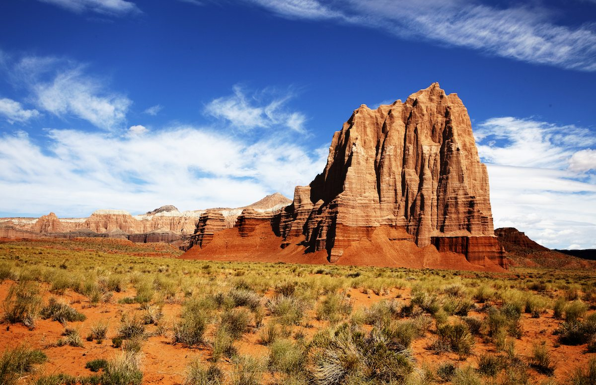 Capitol Reef National Park Drive The Nation