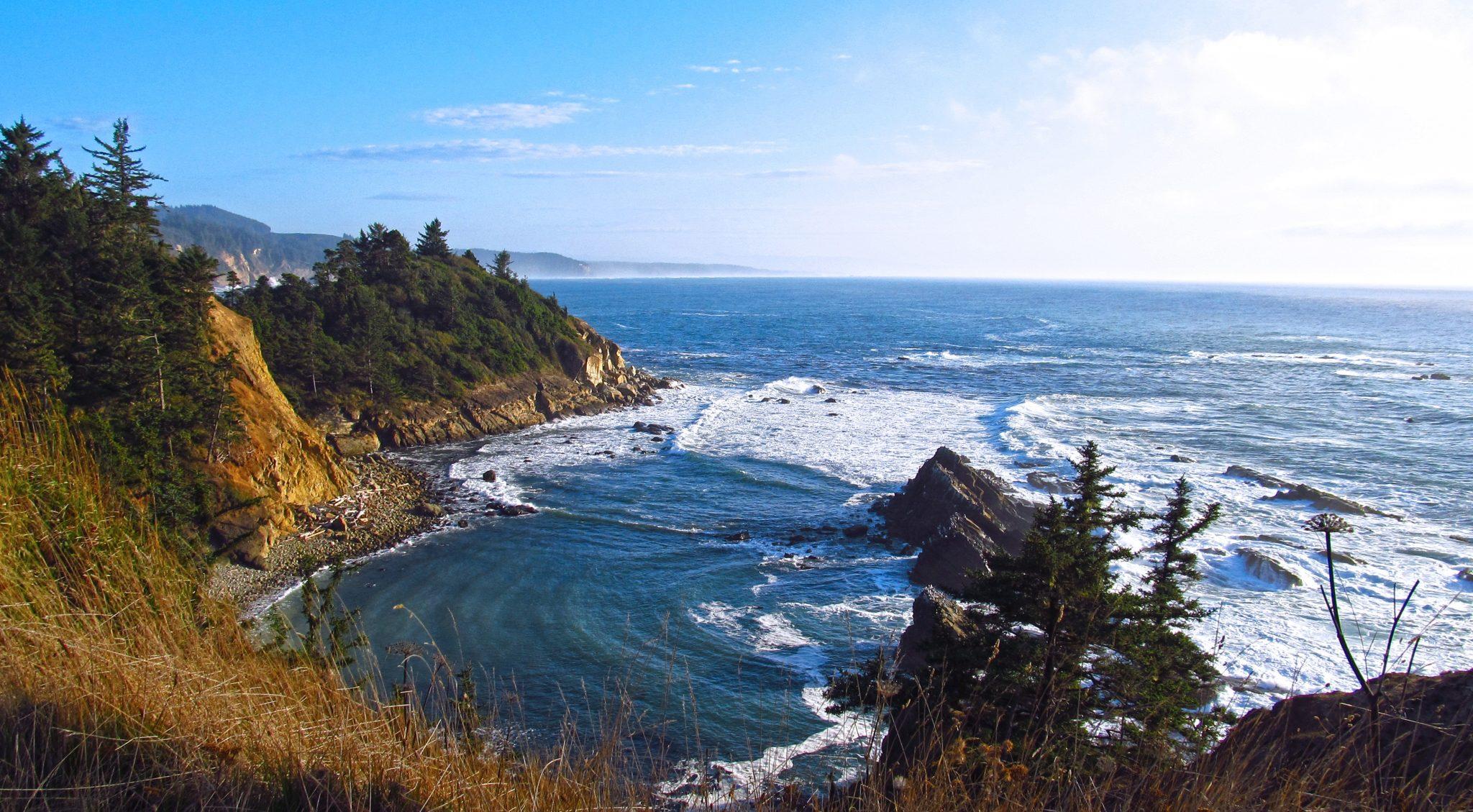 Gorgeous Cove Near Coos Bay, Oregon
