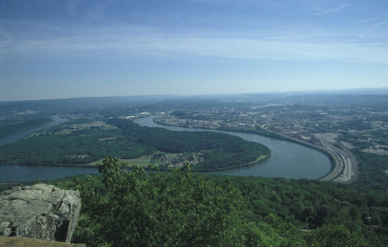 See 7 States Atop Lookout Mountain Drive The Nation
