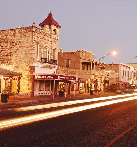 Downtown Fredericksburg TX