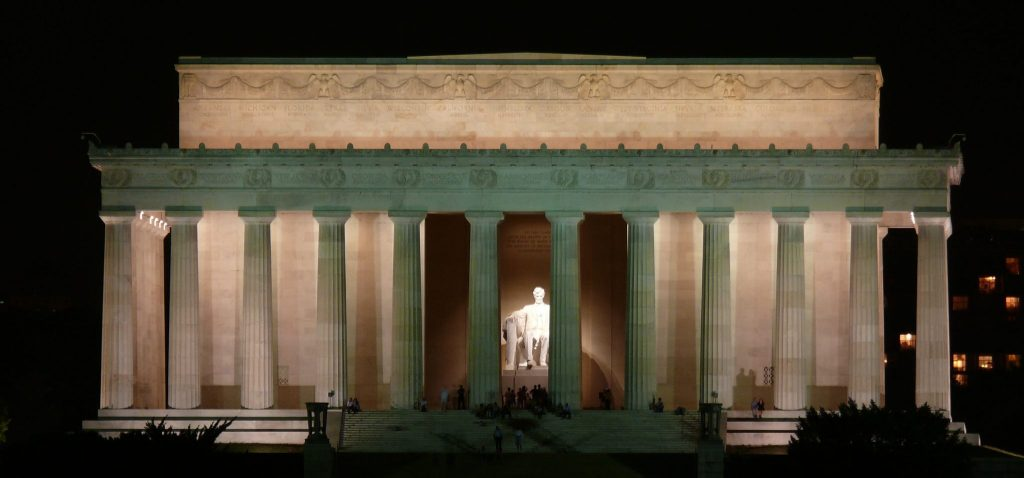 east coast destinations - lincoln memorial
