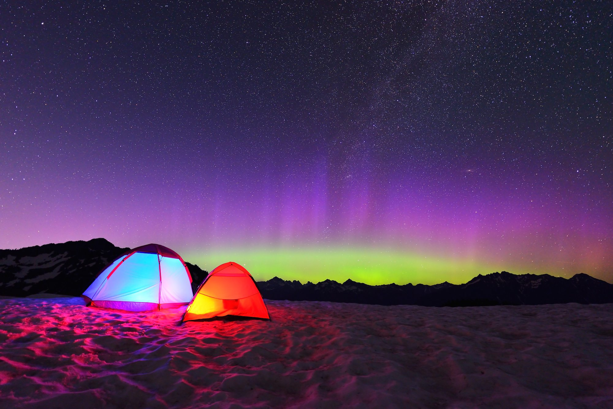 Northern Lights Camping Destinations