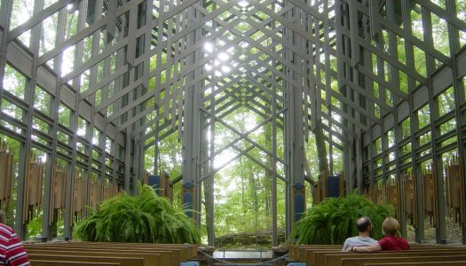 Thorncrown Chapel in Arkansas