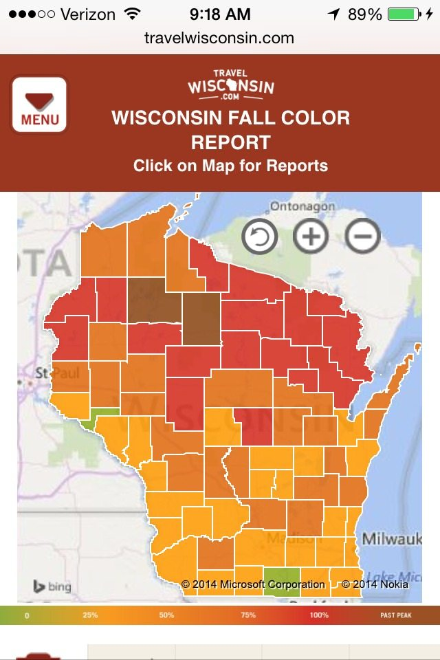 Fall Foliage Trackers Know Where To Go Drive The Nation
