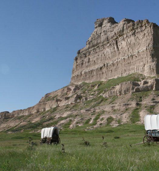 Wagons Scotts Bluff