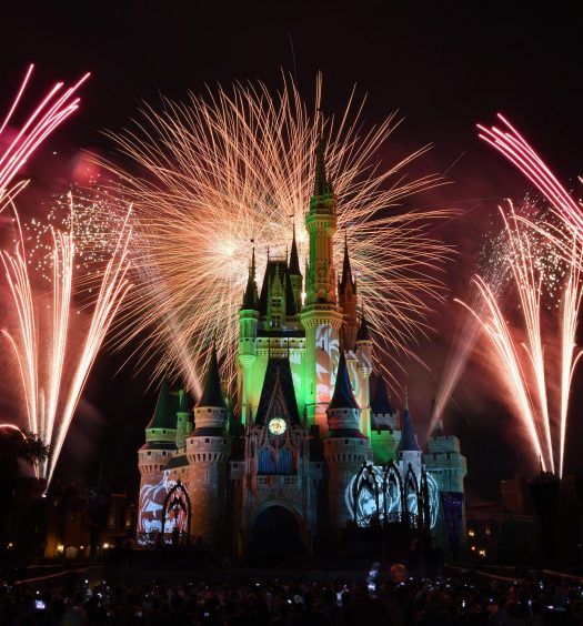 Mickey's Not-So-Scary Halloween Fireworks