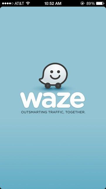 Waze Welcome Screen