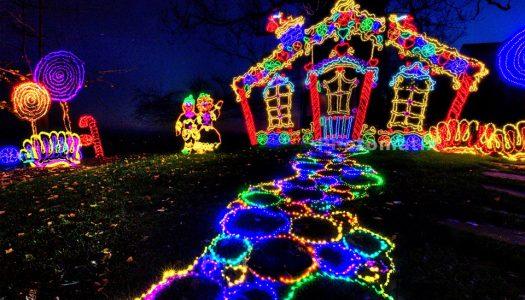 Rock City's Enchanted Garden of Lights