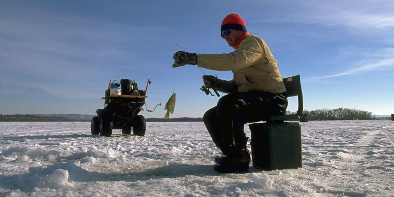 Best u s ice fishing destinations drive the nation for Best fishing in wisconsin