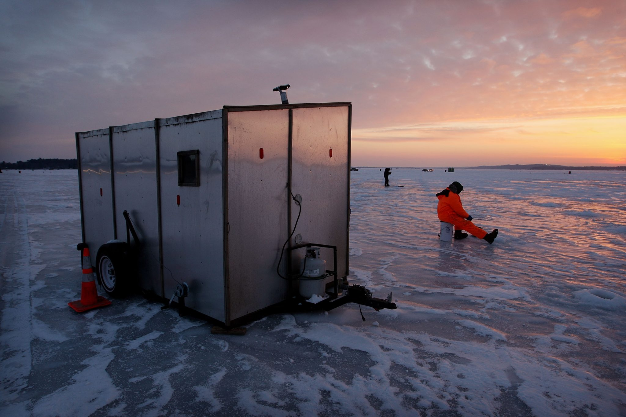 best u s ice fishing destinations drive the nation