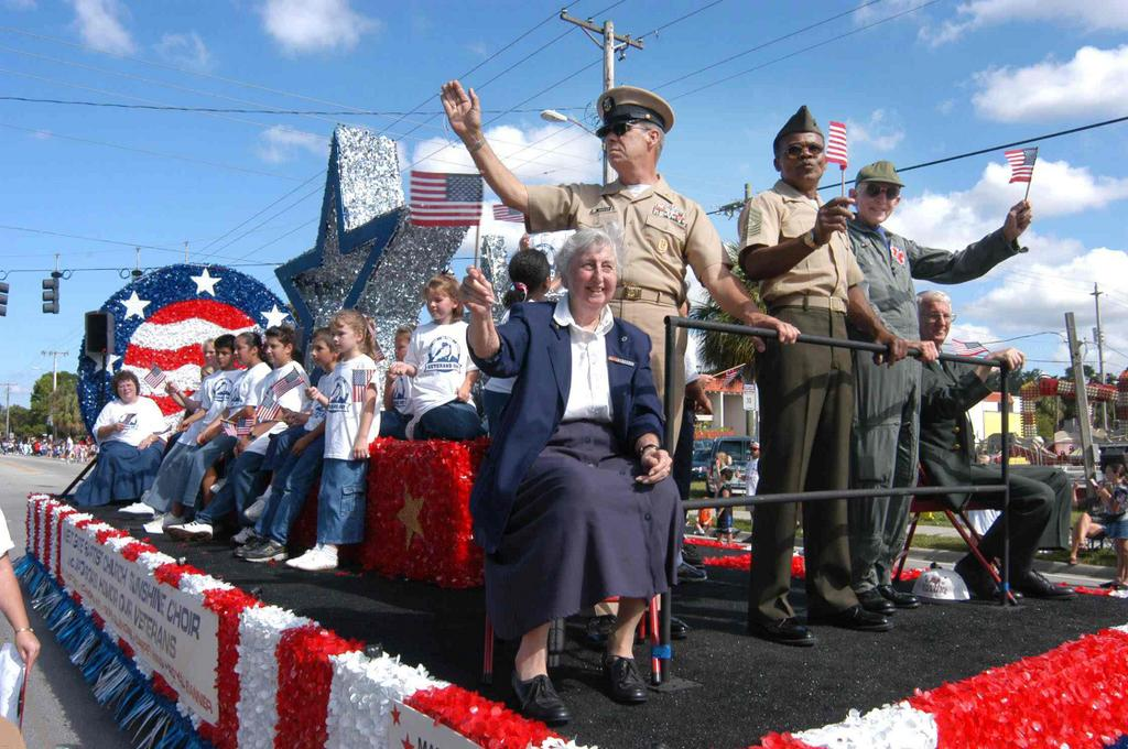 Tampa Veterans Day Parade