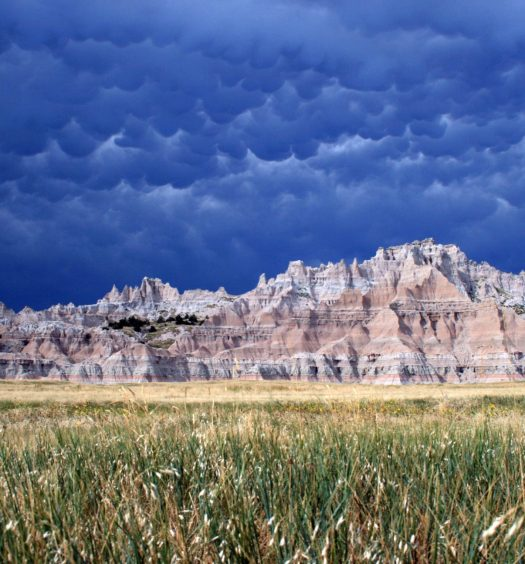 Badlands Incredible Clouds