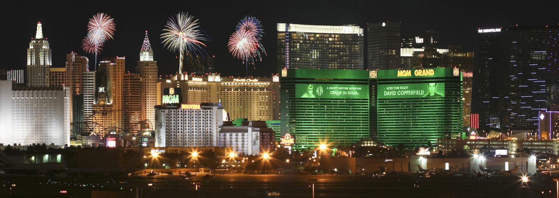 Fireworks Over the Vegas Strip