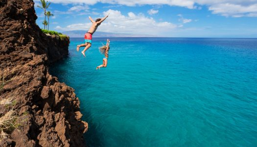 Best Cliff Diving Spots in the USA
