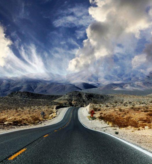Road Trip Through Death Valley