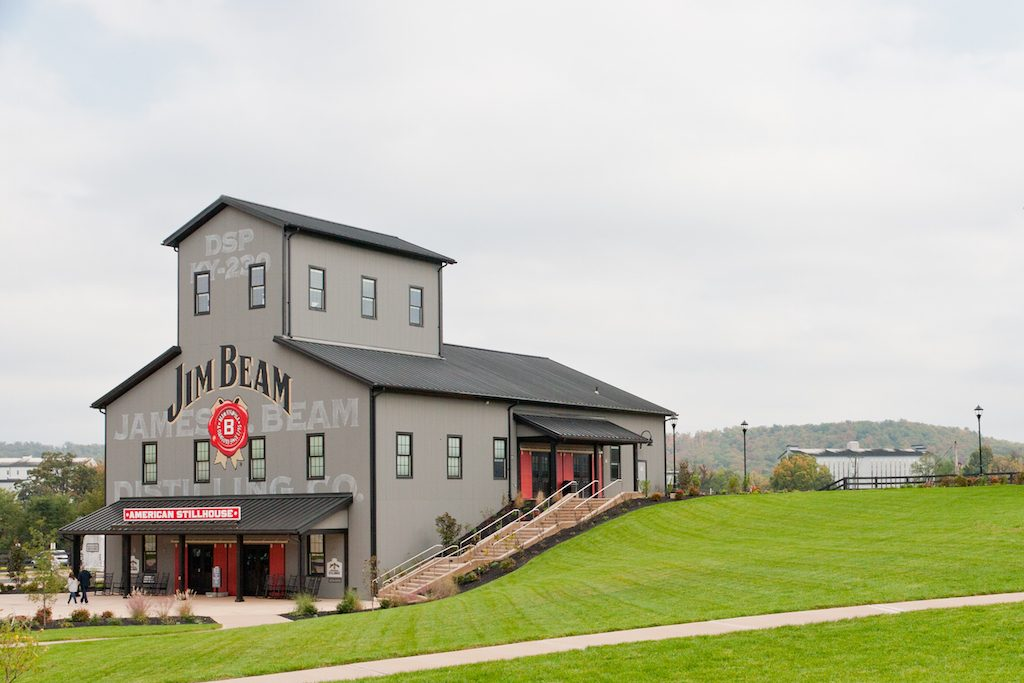Kentucky bourbon trail drive the nation for Ky bourbon trail craft tour map