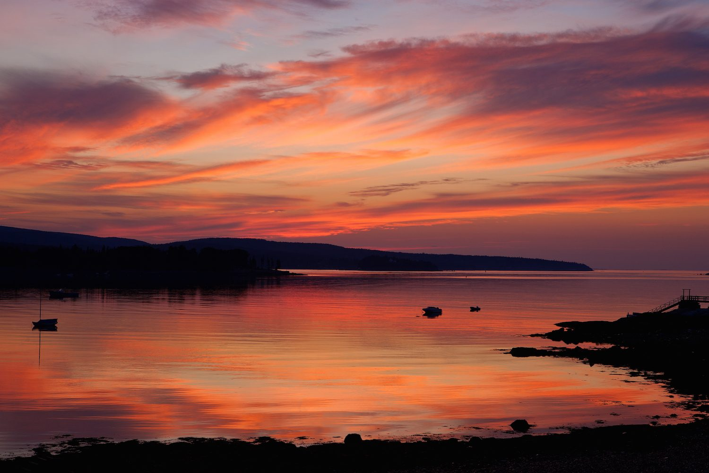 Sunrise at Sand Beach in Acadia NPS