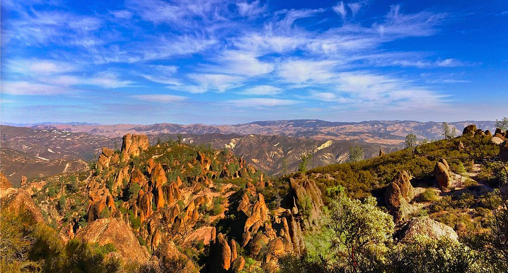 plan your trip to pinnacles national park drive the nation