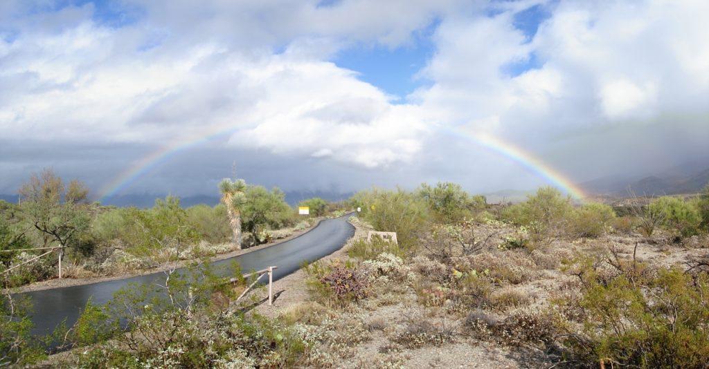 Rainbow Over Loop Drive