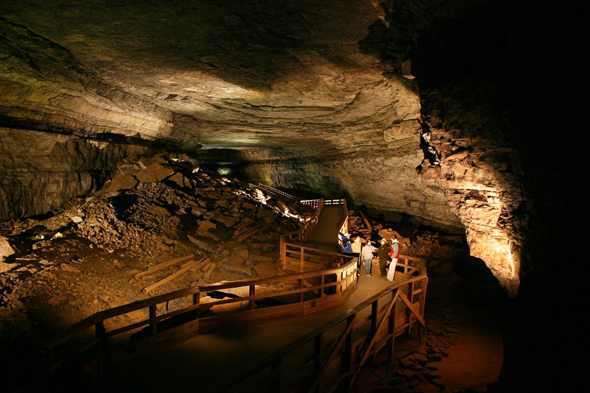 Inside Wind Cave