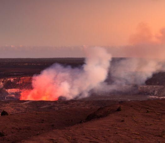 Halemaumau Crater At Hawaii Volcanoes National Park
