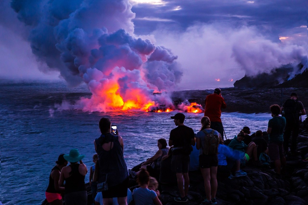 hawaii national park A popular big island odyssey is a drive to hawaii volcanoes national park, where you can visit kilauea volcano it's a must-see for good reason.