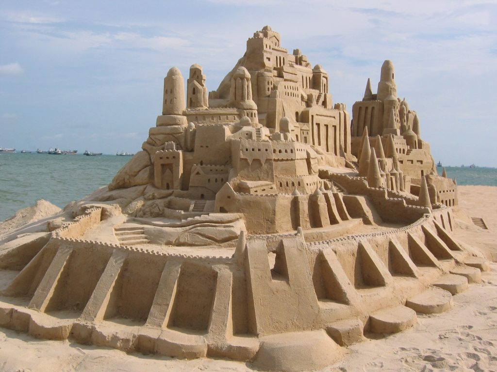 how to build a sandcastle The ultimate sand castle toolkit the first-place cash prize at last year's annual us open sandcastle competition at imperial beach in california was $21,000.