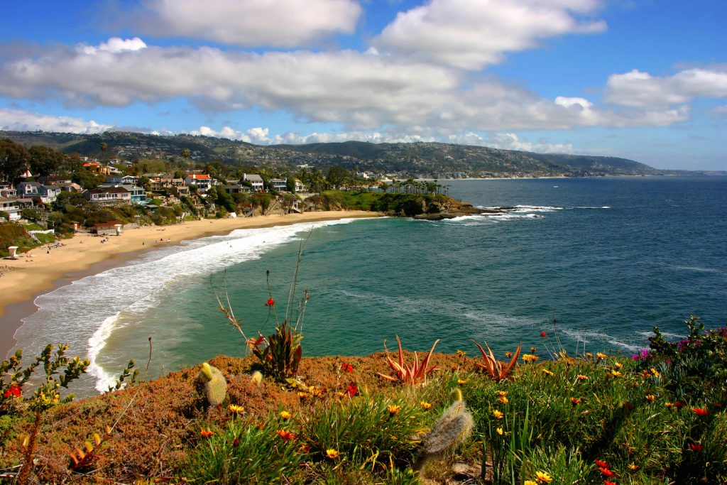 Crescent Bay In Laguna Beach,California.