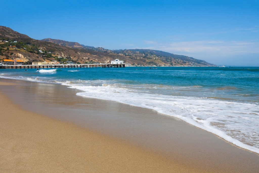 Malibu Lagoon State Beach in Malibu, California