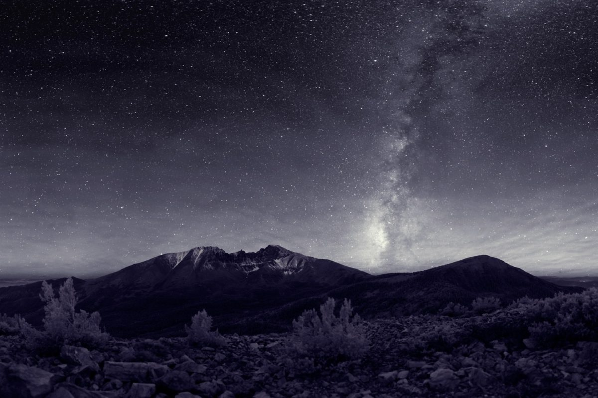 Night sky at Great Basin National Park