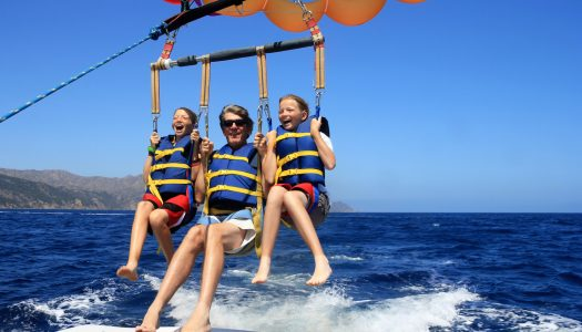 Best Beaches for Parasailing