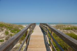 Boardwalk to St. Augustine Beach